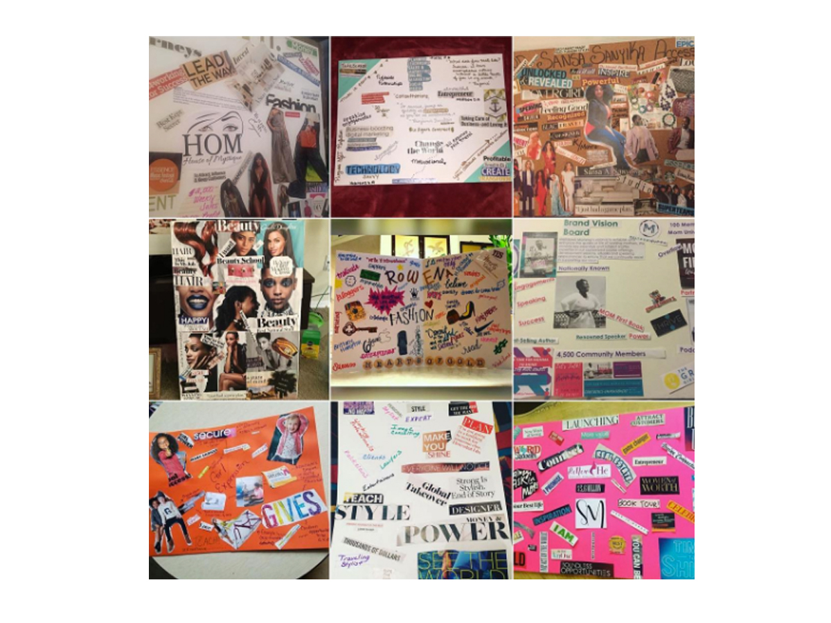 5 Ways to Bring Your Vision Board to Life